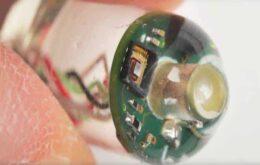 Pesquisadores criam sensor ingerível que mede sinais vitais