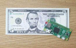 Novo Raspberry Pi é um computador que custa apenas US$ 5