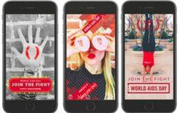 Snapchat lança filtros para arrecadar fundos contra a AIDS