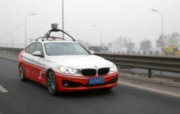 Carro autônomo da Baidu começa a ser testado em vias públicas