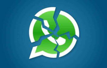 Error hace que WhatsApp se 'rompa' con mensaje lleno de emojis