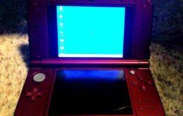 Hackers fazem um Nintendo 3DS rodar Windows 95