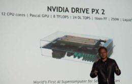 Nvidia anuncia supercomputador para carros autônomos