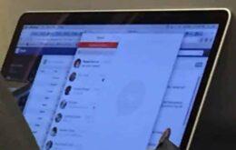 Imagem vazada mostra versão do Facebook Messenger para Macs