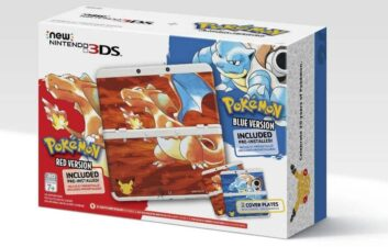 Nintendo revela pacote do 3DS com Pokémon Red e Blue
