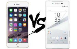 iPhone 6s ou Xperia Z5? Comparamos os dois smartphones mais caros do Brasil