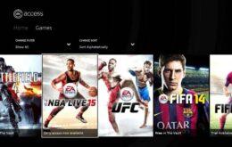 Jogos do EA Access estão disponíveis de graça no Xbox One até domingo
