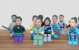 Tienda online pone su cabeza en un cuerpo de Lego