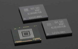 Samsung lança chips de memória de 256GB para smartphones