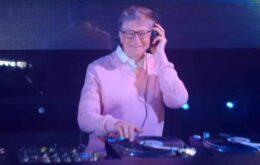 Bill Gates 'ataca de DJ' na TV americana para promover caridade