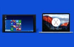 Microsoft tira sarro do MacBook em novos comerciais do Windows 10