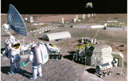 Cientistas querem montar estação na Lua até 2022