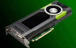 NVidia lança placa de vídeo profissional com 24 GB de memória