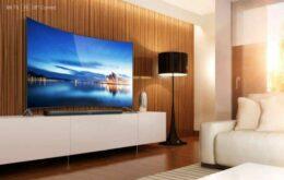 Xiaomi lança TV Android 4K curva de 65 polegadas por menos de US$ 1.400