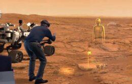 NASA e Microsoft usam HoloLens para 'levar' usuários a Marte