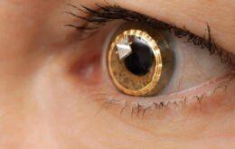 Sony também tem patente de lente de contato com câmera embutida