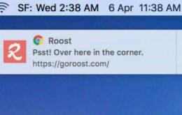 Chrome  finalmente libera notificação push no Mac