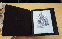 Amazon lança Kindle Oasis, com capa que estende a bateria, por R$ 1400