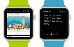 Application takes Facebook feed to Apple Watch