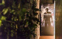 Atração em SP e RJ permite que jogadores se tornem personagens de 'Uncharted'