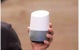 Google anuncia assistente doméstico capaz de conversar e tocar música