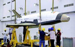 Agência espacial indiana testa protótipo de espaçonave reutilizável