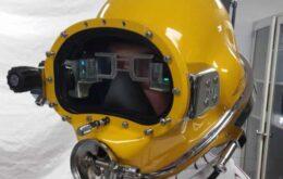 Marinha dos EUA cria display estilo 'Homem de Ferro' para mergulhadores