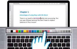 Código do macOS sugere existência de barra de toque OLED no MacBook Pro