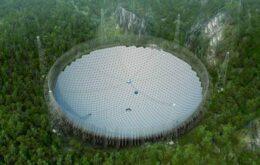 Maior radiotelescópio do mundo começa a operar na China