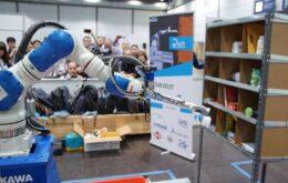Braço robô ganha prêmio de tecnologia da Amazon