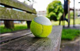 Projeto transforma bola de tênis em alto-falante Bluetooth