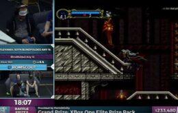 Jogador zera Castlevania em uma hora com os olhos vendados