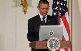 Obama reclama das notícias falsas que circulam pelo Facebook