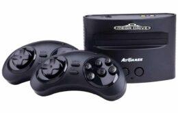 Sega anuncia versões retrô do Mega Drive