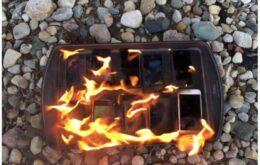 Confira 10 smartphones que explodiram e veja o que fazer para evitar o problema