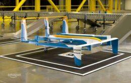 Amazon começa a testar frotas de drones de entrega