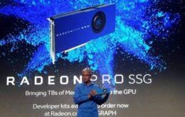 AMD lança placa de vídeo com memória de até 1 TB