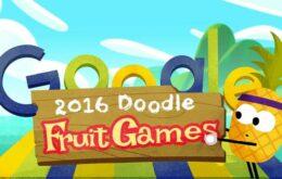 Google tem doodle e jogo em homenagem aos Jogos Olímpicos do Rio