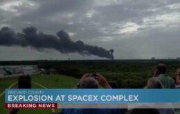 Satélite do Facebook é destruído por falha em lançamento da SpaceX