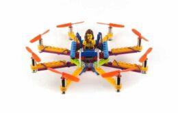 Empresa crea dron hecho con piezas de Lego