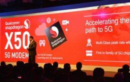Qualcomm anuncia primeiro modem 5G para smartphones