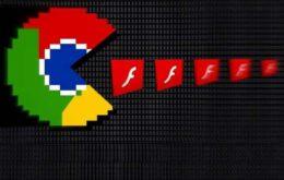 Chrome colabora um pouco mais para o fim do Flash