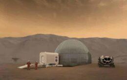 NASA apresenta conceito de casas em Marte