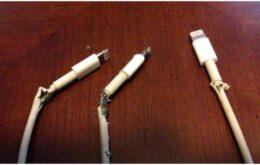 Como impedir que o cabo do seu celular estrague