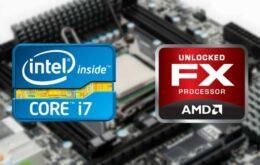 Entenda as diferenças entre processadores AMD e Intel