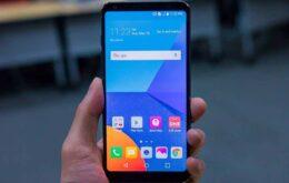 Como é feita a medição do tamanho da tela de um celular?