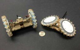 Nasa cria robô dobrável para explorar cavernas extraterrestres