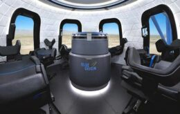 Veja o interior de uma das primeiras naves a levar turistas ao espaço
