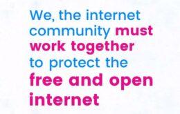 Gigantes da tecnologia fazem 'greve' a favor da neutralidade da rede nos EUA