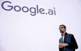Inteligência artificial é tão revolucionária quanto o fogo, diz CEO do Google